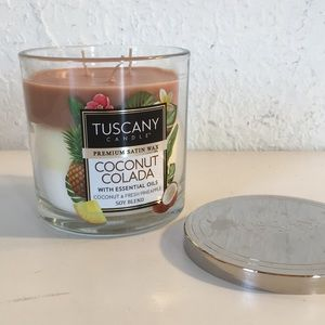 Tuscany Candle Coconut Colada 14oz Soy Blend New